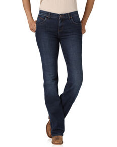 Wrangler Women's Dark Wash QBaby Bethanny Bootcut Jeans , Blue, hi-res