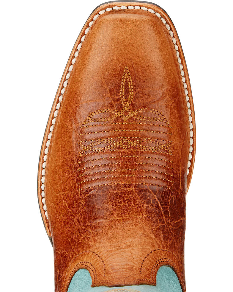 Ariat Legend Legacy Cowgirl Boots - Square Toe , Ginger, hi-res
