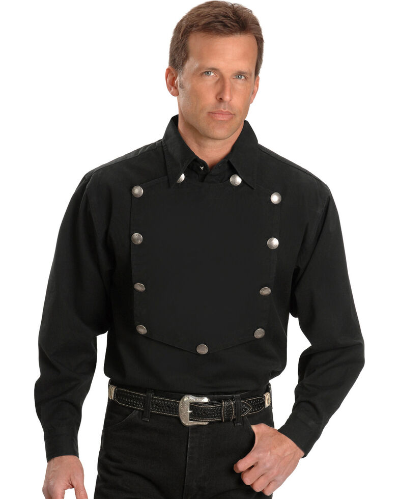 Rangewear by Scully Frontier Engineer Shirt, Black, hi-res