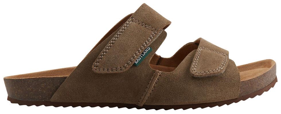 Eastland Men's Tan Caleb Slide Sandals, Tan, hi-res