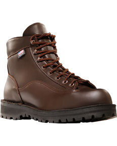 "Danner Men's Brown Explorer 6"" Outdoor Boots - Round Toe , Brown, hi-res"