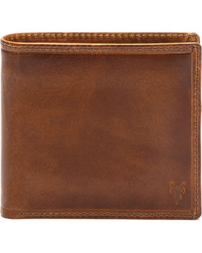 Frye Men's Logan Billfold Wallet , Cognac, hi-res