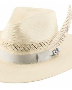 Bullhide Natural Happiness Begins Shantung Western Straw Hat , Natural, hi-res