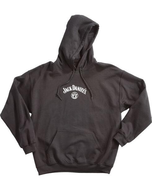 Jack Daniel's Men's Three Bottles Hoodie, Black, hi-res