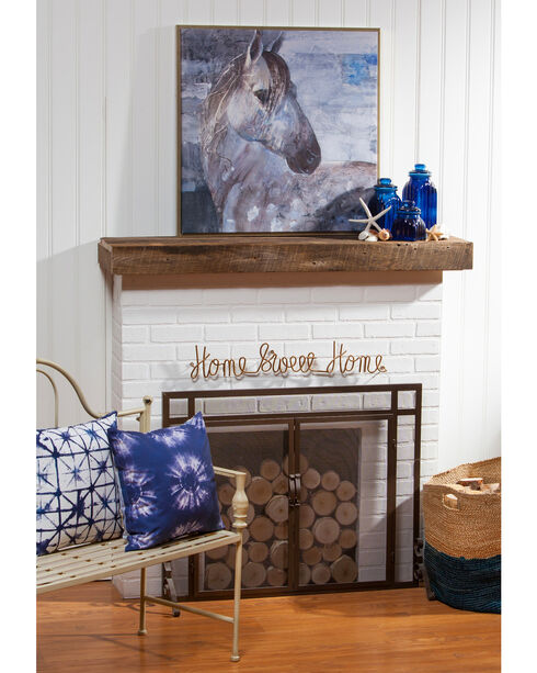 Evergreen Appaloosa Indoor Framed Wall Canvas , White, hi-res