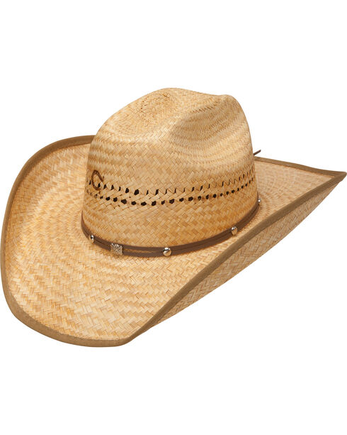 Charlie 1 Horse Costal Cowboy Straw Hat, Toast, hi-res
