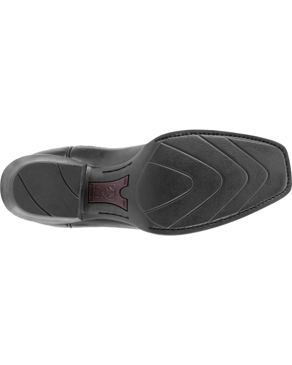 Ariat Legend Phoenix Cowboy Boots - Square Toe, Black, hi-res
