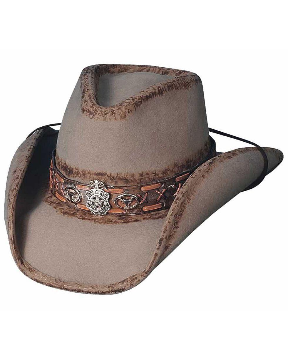 Bullhide Marshal Dillon Premium Wool Cowboy Hat, Sand, hi-res