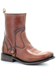 Corral Men's Coganc Strap Western Boots - Round Toe, Cognac, hi-res
