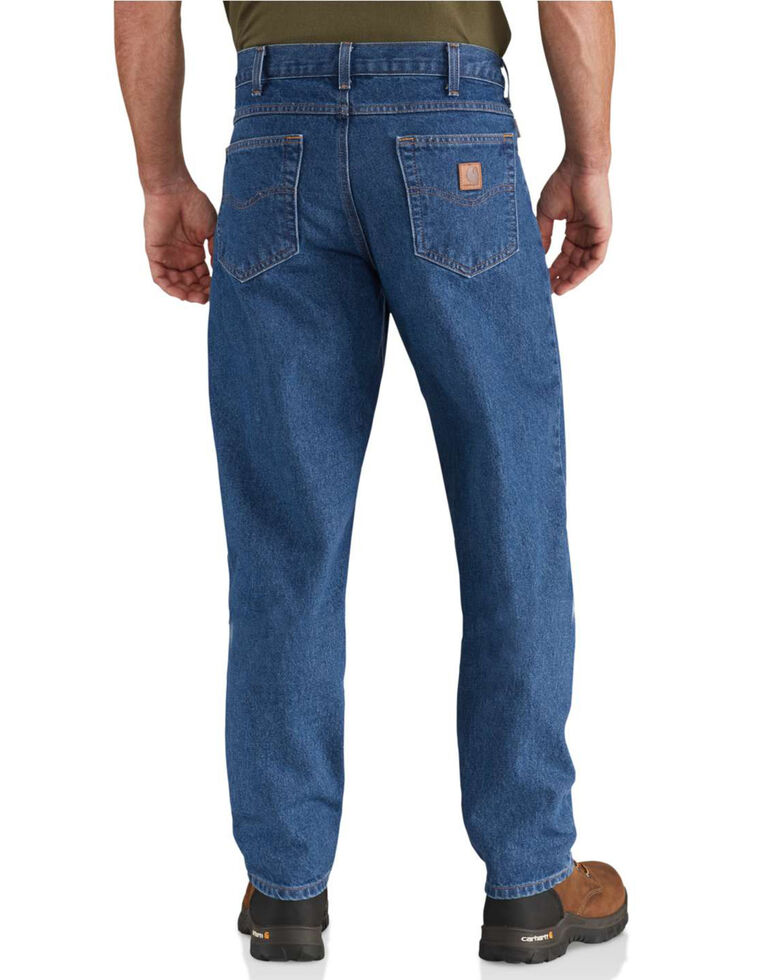 Carhartt Jeans - Relaxed Fit Work Jeans - Big & Tall, Blue, hi-res