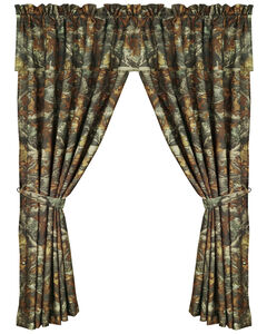 HiEnd Accents Realtree Camouflage Curtain, Multi, hi-res
