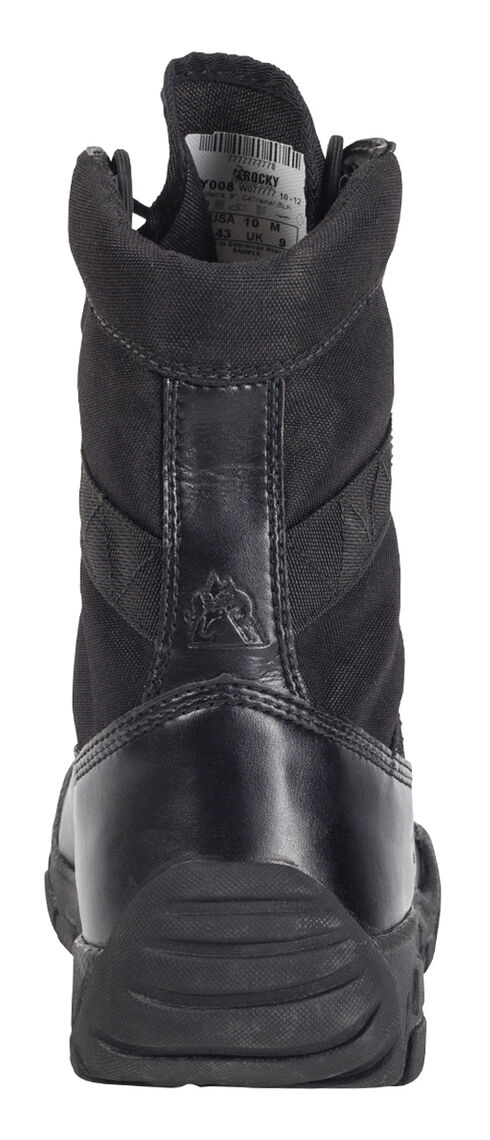 Rocky Men's C4T Military-Inspired Duty Boots, Black, hi-res
