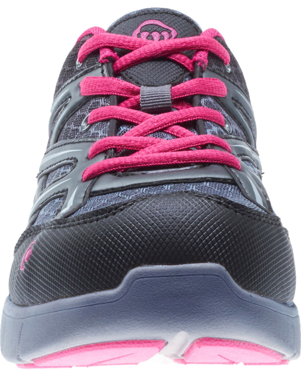 Wolverine Women's Jetstream Work Shoes - Composite Toe, Grey, hi-res