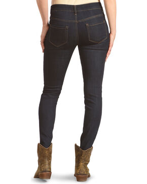 Angel Premium Women's Enzyme Washed Stretch Jeans - Skinny, Indigo, hi-res