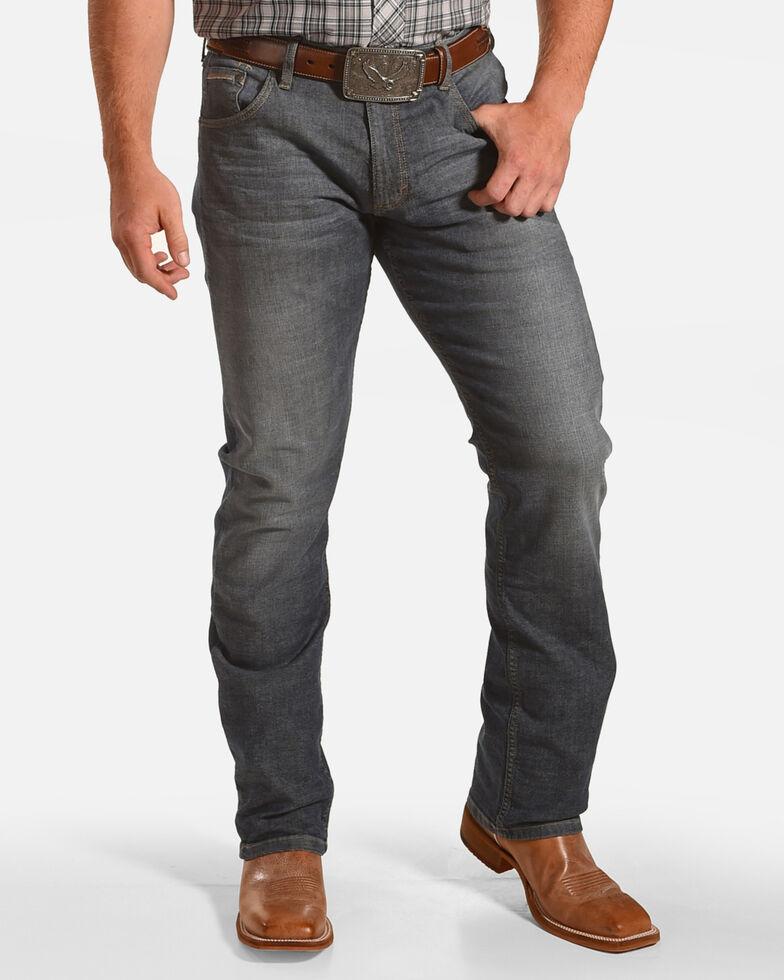 6e4a3b5975e8 Zoomed Image Wrangler Men's Slim Fit Straight Leg Jeans, Blue, hi-res