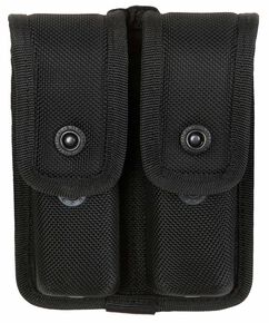 5.11 Sierra Bravo Double Mag Pouch, Black, hi-res