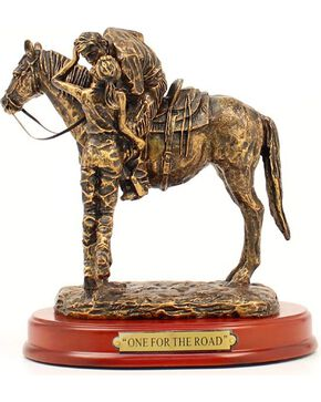 """Western Moments """"One For The Road"""" Statue, Brown, hi-res"""