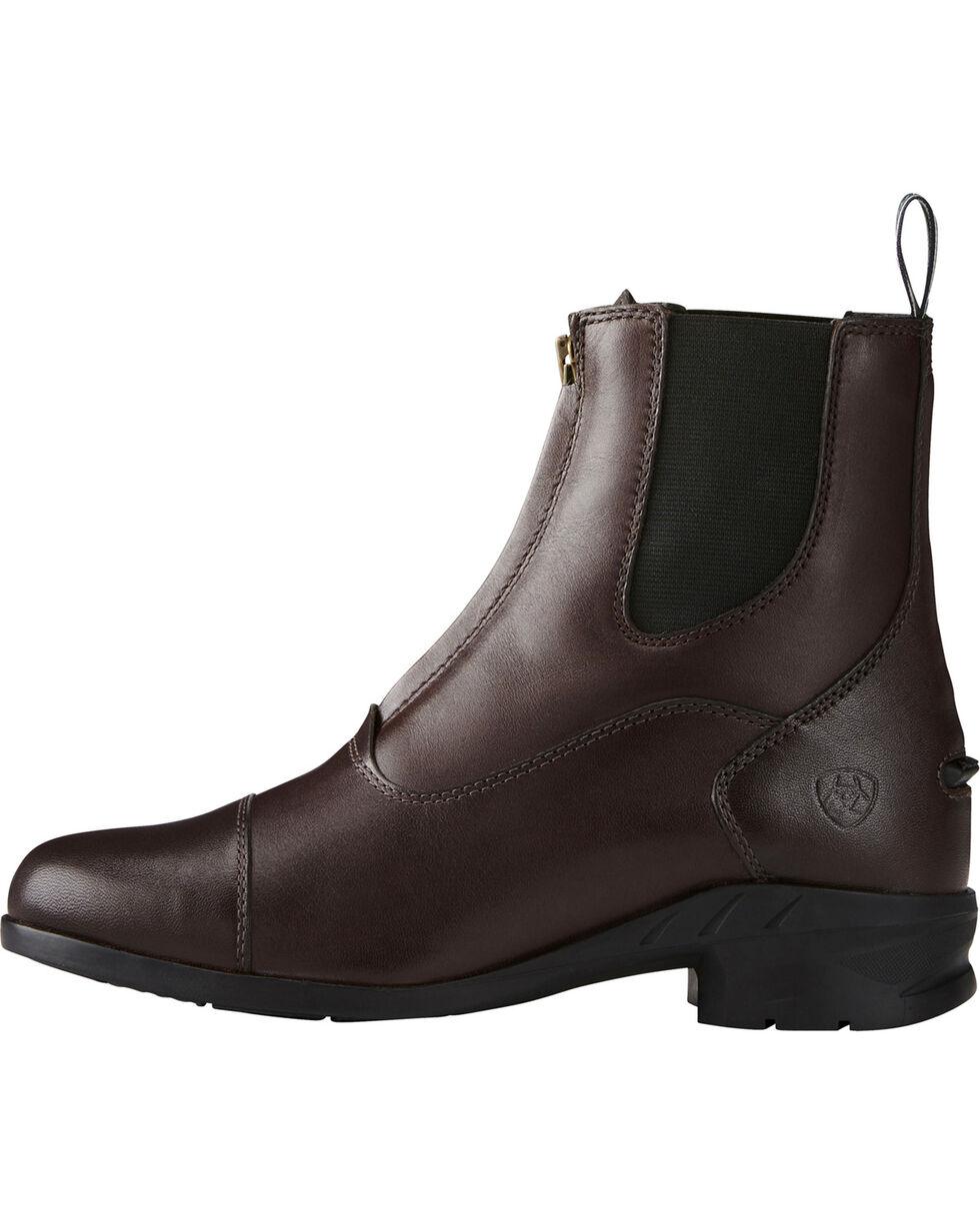 Ariat Women's Heritage IV Zip Paddock Boots - Round Toe, Lt Brown, hi-res