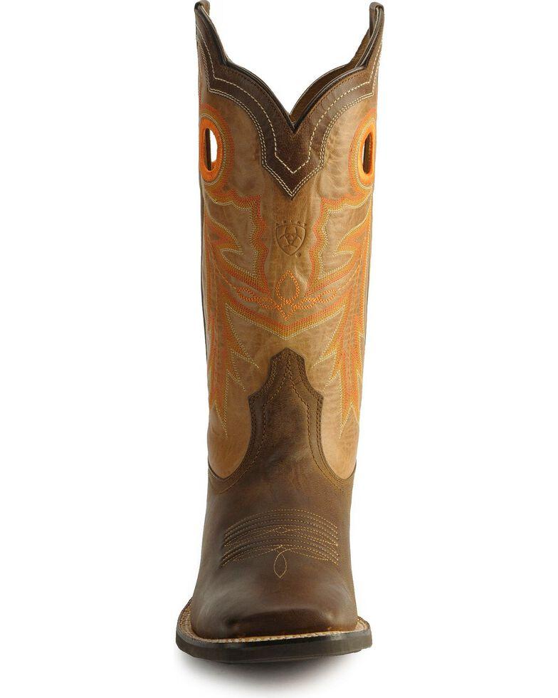 Ariat Wildstock Cowboy Boots, Brown, hi-res