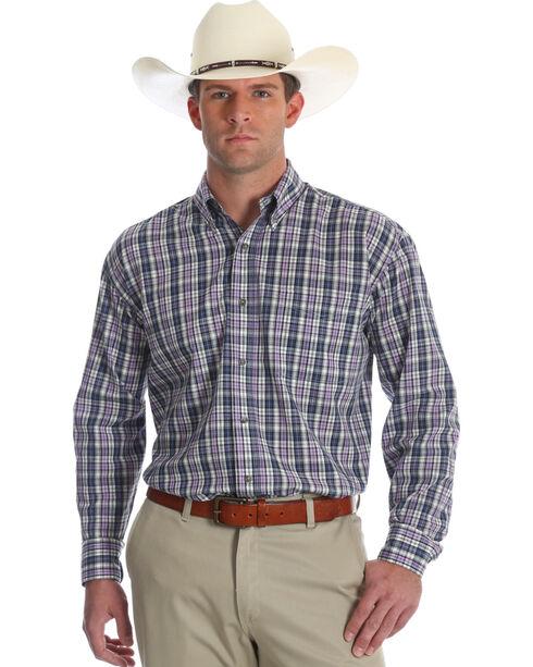 Wrangler Men's Riata Assorted Long Sleeve Western Shirts , Multi, hi-res