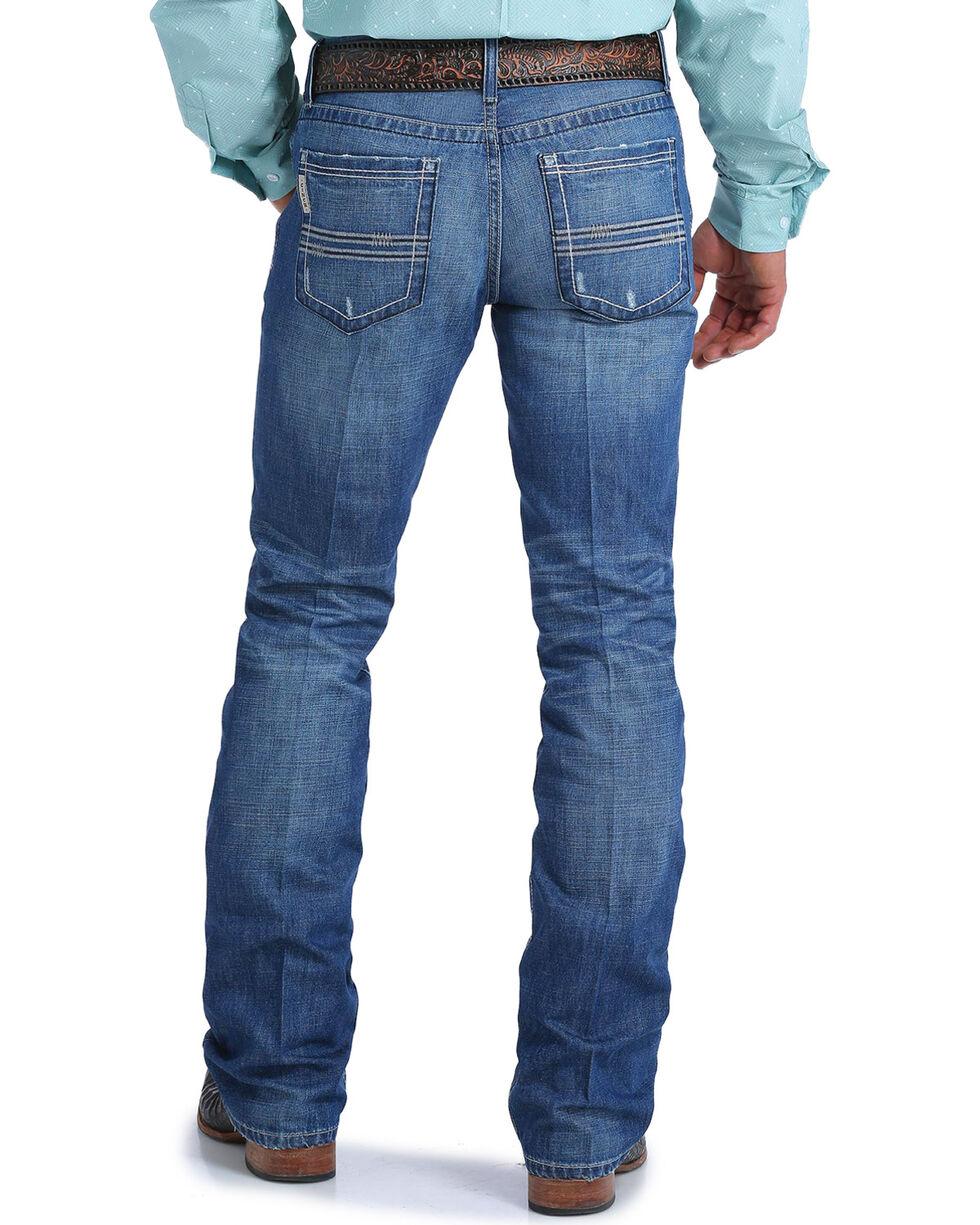 Cinch Men's Ian Medium Stonewash Slim Fit Jeans - Boot Cut, , hi-res