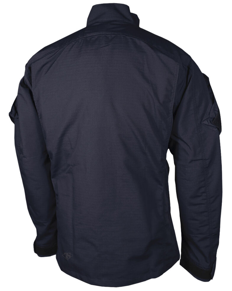 Tru-Spec Men's Navy Urban Force TRU Long Sleeve Shirt , Navy, hi-res