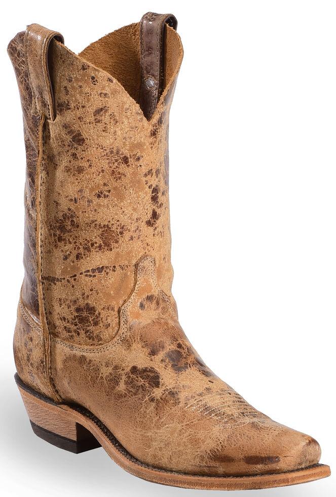 bea4bfc5696 Justin Men's Distressed Cowboy Boots - Square Toe