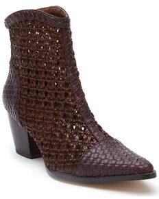 Matisse Women's Caught Up Fashion Booties - Pointed Toe, Brown, hi-res