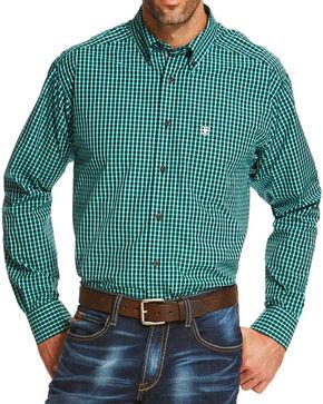 Ariat Men's Indigo Odem Long Sleeve Shirt , Indigo, hi-res