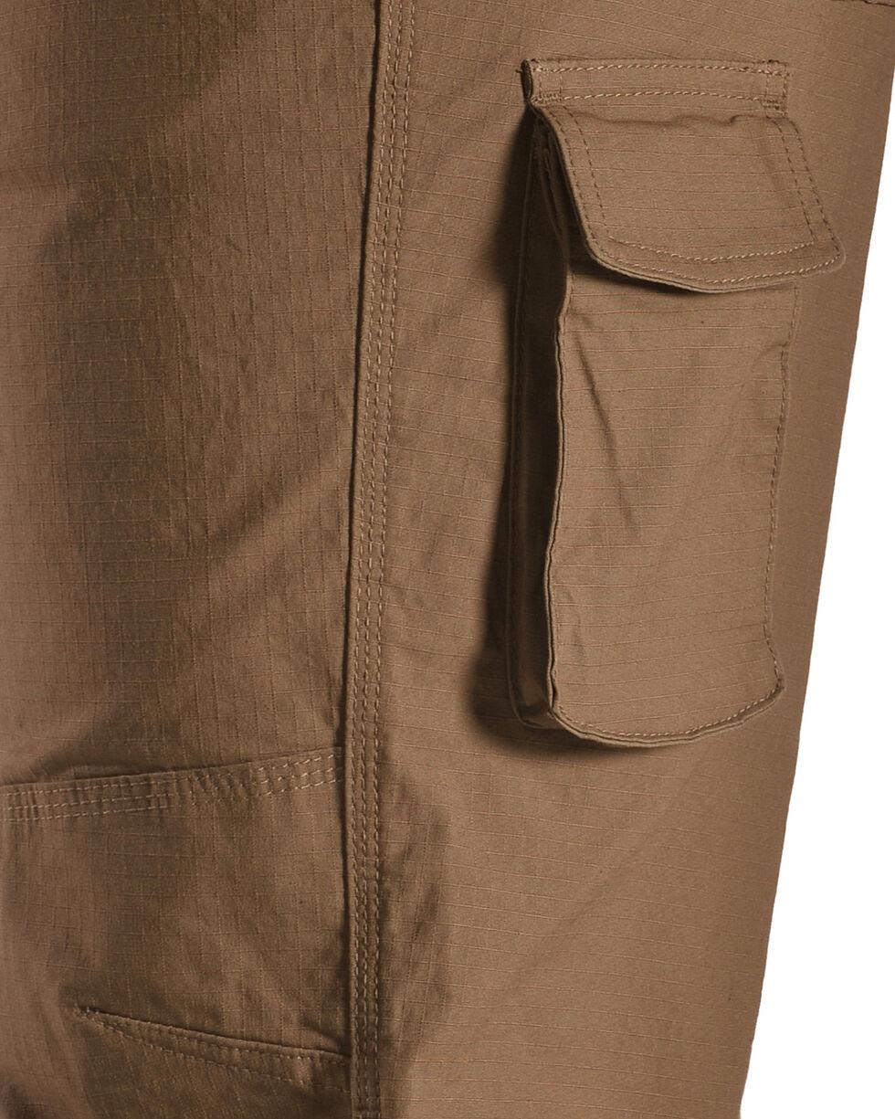 American Worker Men's Flagstone Stretch Mini-Ripstop Utility Pants, Brown, hi-res