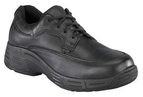 Florsheim Men's Postal Oxford Shoes - USPS Approved, Black, hi-res
