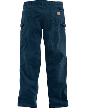 Carhartt Loose Fit Canvas Carpenter Five Pocket Work Pants, Navy, hi-res