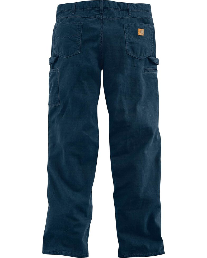 a187ba6e160 Carhartt Loose Fit Canvas Carpenter Five Pocket Work Pants Sheplers. Hawx  Men S Stretch Ripstop Utility ...