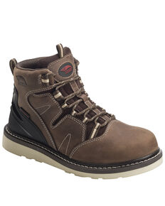 Avenger Men's Waterproof Puncture Resisting Work Boots - Soft Toe, Brown, hi-res
