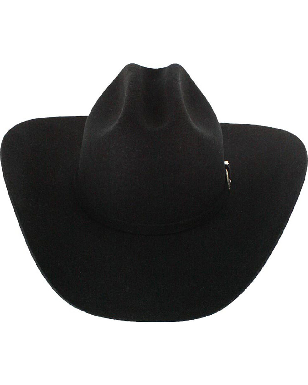 Cody James® Men's 3X Wool Western Hat, Black, hi-res
