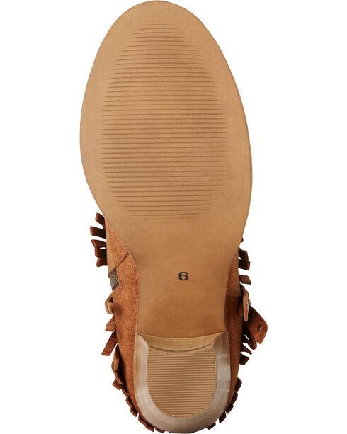 Ariat Women's Unbridled Avery Fringe Concho Boots - Round Toe, Suntan, hi-res