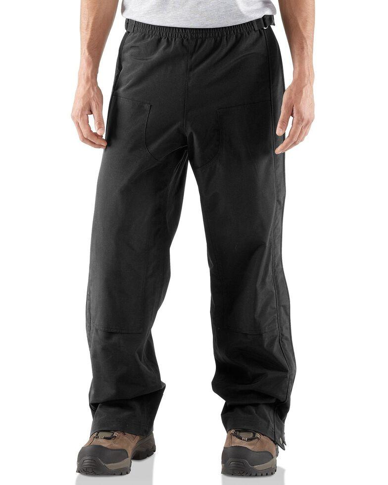 Carhartt Men's Shoreline Work Pants - Tall, Black, hi-res