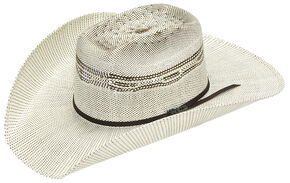 Twister Added Money Brick Two Tone Bangora Hat, Natural, hi-res