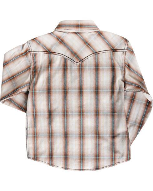 Cody James Toddler Boys' Trooper Long Sleeve Shirt , Brown, hi-res