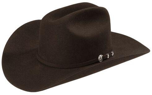 Stetson 4X Corral Buffalo Felt Cowboy Hat, Chocolate, hi-res
