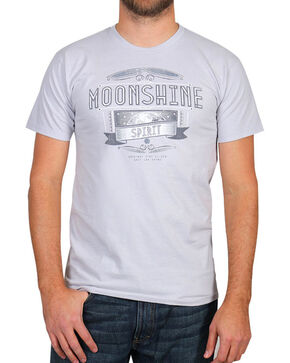 Moonshine Spirit Men's Grit and Grim Short Sleeve T-Shirt, Grey, hi-res