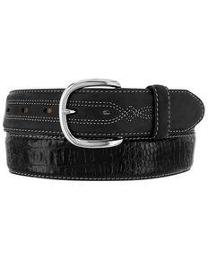 Leegin Men's Hidalgo Hornback Western Belt, Black, hi-res