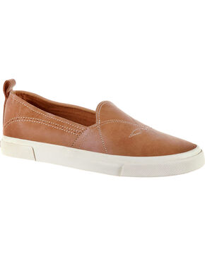 Durango Women's Tan Music City Slip-On Sneakers, Tan, hi-res