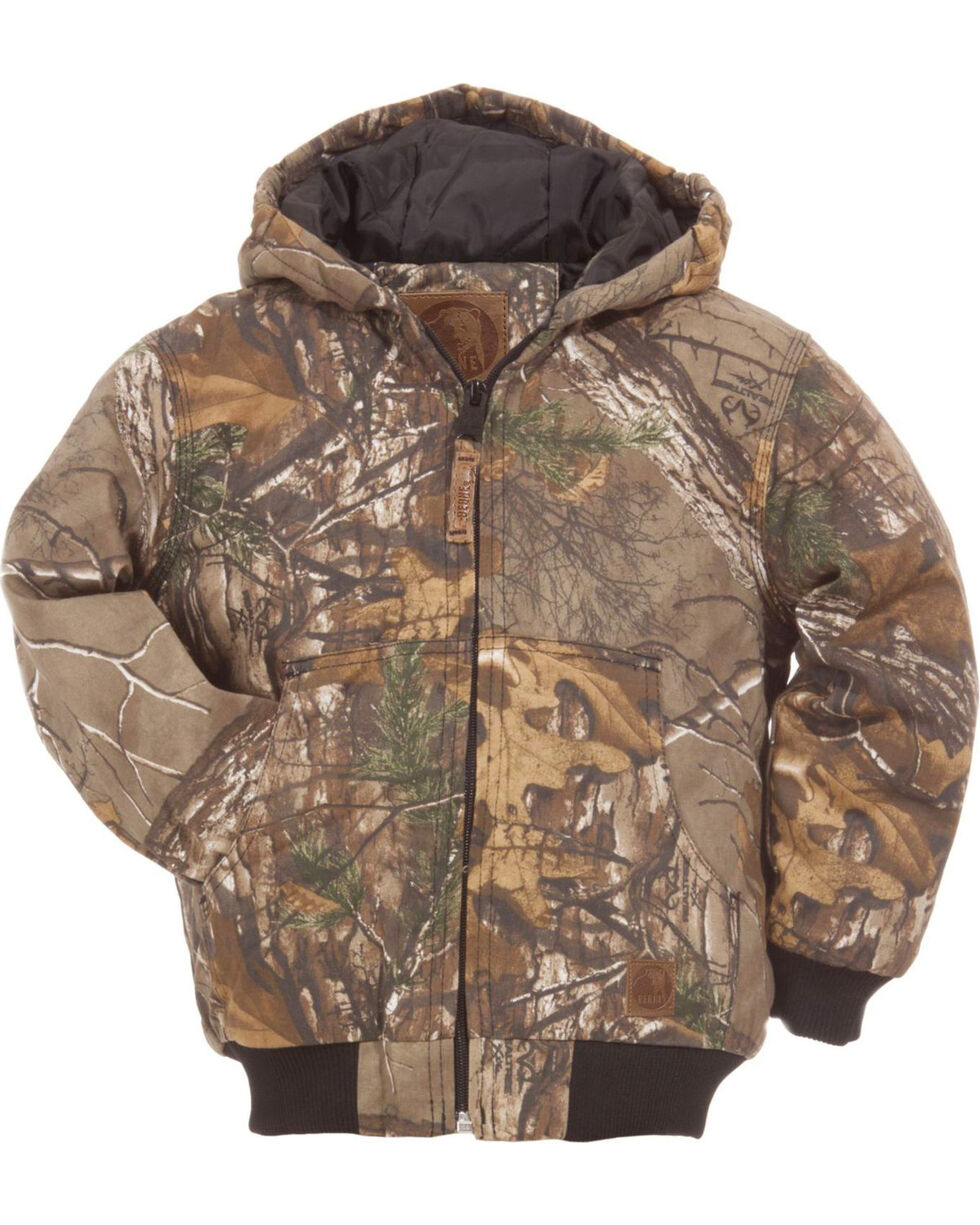 Berne Boys' Youth Realtree Camo Spike Jacket, Camouflage, hi-res