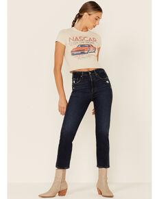 Levi's Women's 501 Authentic Cropped Jeans, Blue, hi-res