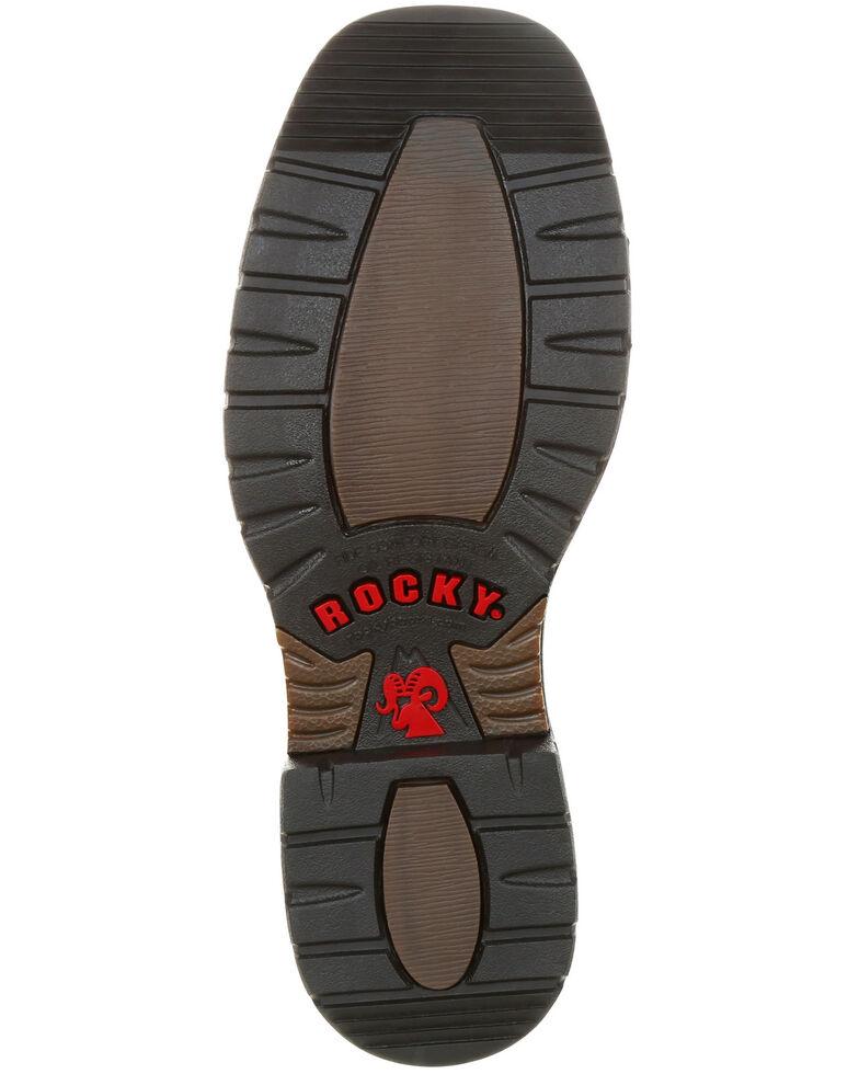 0ab33a49b83 Rocky Men's Original Ride FLX Waterproof Western Work Boots - Steel Toe