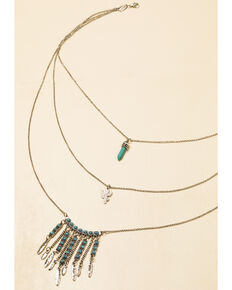 Shyanne Women's In The Oasis Cactus Jewelry Set , Silver, hi-res