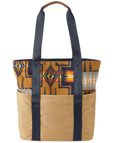 Pendleton Women's Harding Tan Tote Bag, Tan, hi-res