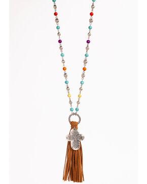 Shyanne Women's Fiesta Tassel Necklace, Multi, hi-res
