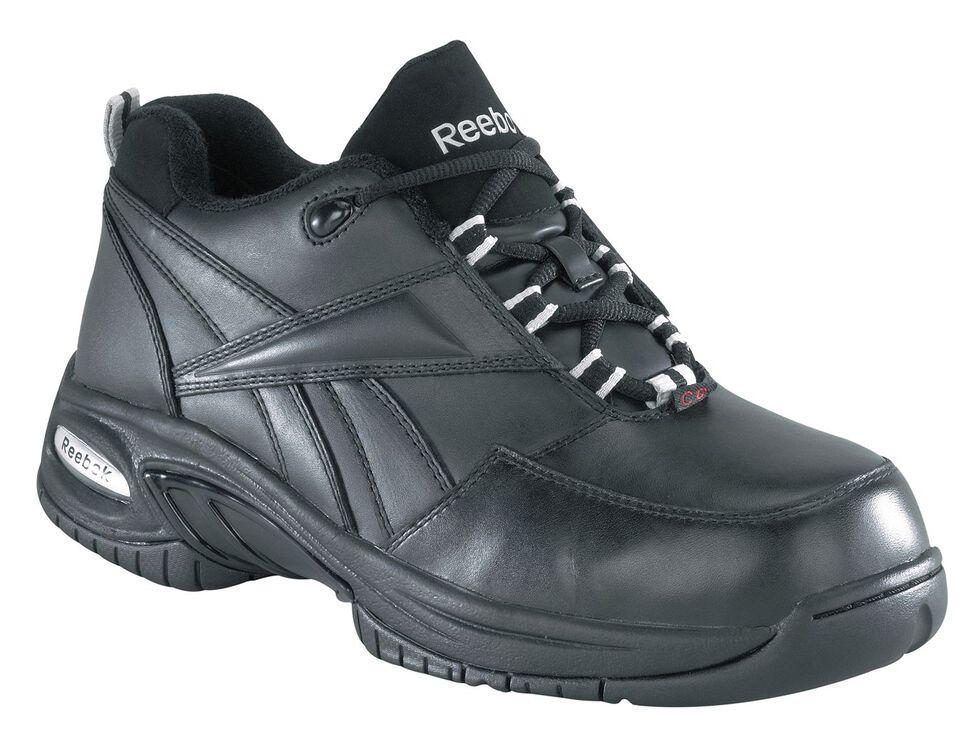 Reebok Women's Tyak Work Shoes - Composite Toe, Black, hi-res